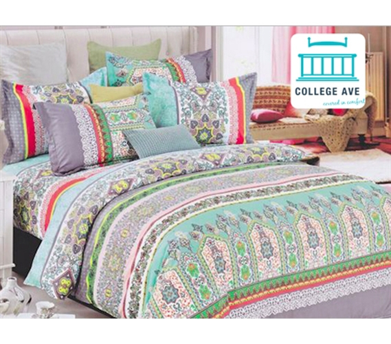 Mint Haze Dorm Bedding For Girls Extra Long Twin Comforter