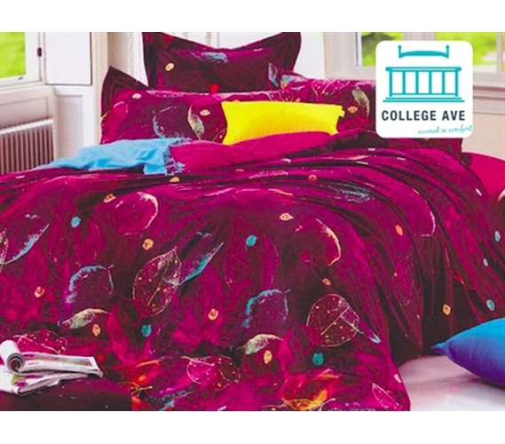 Torrid Leaves Twin XL Comforter Set   College Ave Designer Series Part 59