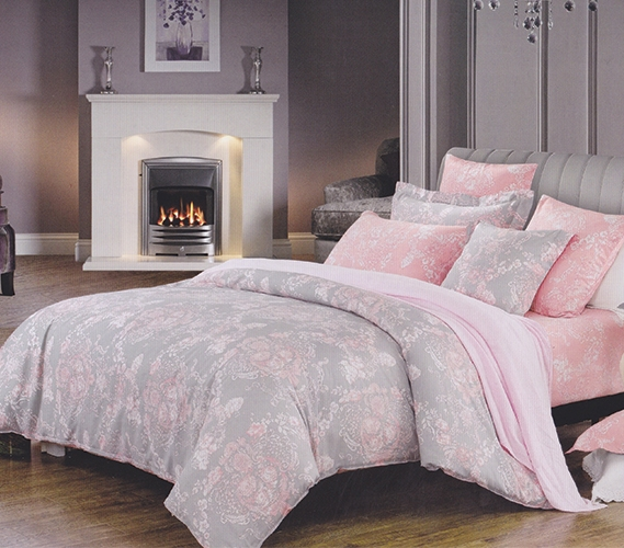 pink and grey comforter Overcast Pink Twin XL Dorm Room Comforter Girls Dorm Bedding pink and grey comforter