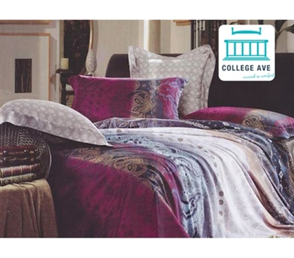 Riley Twin Xl Comforter Set College Ave Designer Series