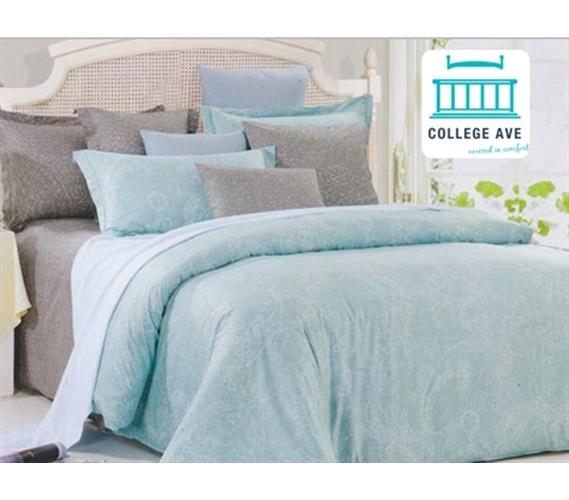 Leisure Twin Xl Comforter Set College Ave Designer Series Girls Dorm Bedding
