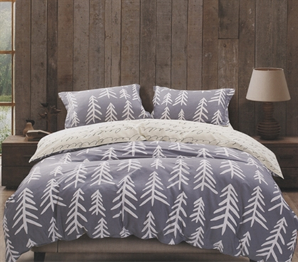 Glacier Nights Twin XL Comforter Set Dorm Bedding Must Have Dorm Items