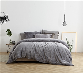 Coma Inducer Twin XL Comforter - UB-Jealy - Slate Black