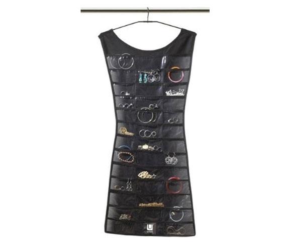 Little Black Dress Closet Jewelry Organizer