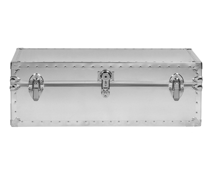 Underbed Steel Trunk - USA Made (Smooth or Embossed)