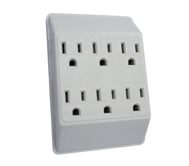 6 Outlet Wall Tap College Supplies Must Have Dorm Items