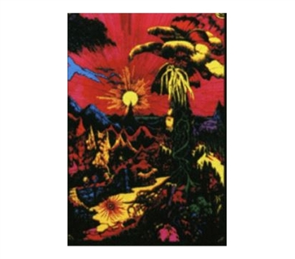 Add Dorm Stuff - Horizon Blacklight Poster - Decorate Your Dorm