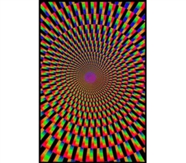 Unique Dorm Decor - Mind Illusion Blacklight Poster - Buy Cheap Posters