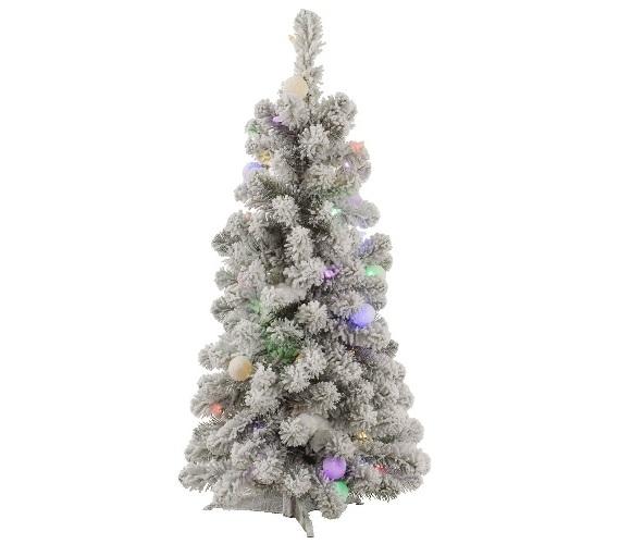 3x20 kodiak mini tree with italian mini lights
