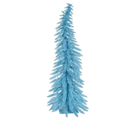 Holiday Dorm Room Decorations Sky Blue Whimsical Laser Dorm Christmas Tree