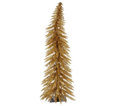 Holiday Dorm Room Decorations Antique Gold Laser Dorm Christmas Tree with Clear Mini Dorm Lights