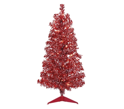 Red & White Candy Cane Tree Set Must Have Dorm Items