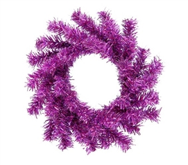 "Dorm Room Decorations 6"" Purple Mini Wreath"