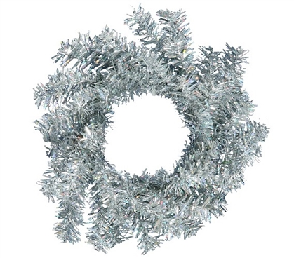 "Holiday Decorations 6"" Silver Mini Wreath Dorm Room Decorations"