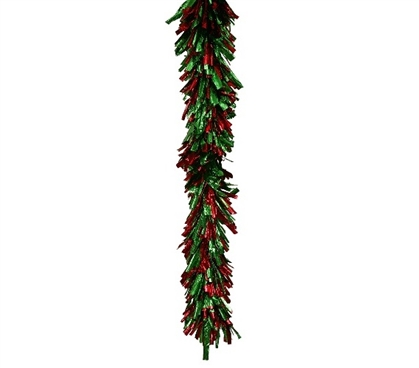 Holiday Dorm Room Decorating Ideas Red Green Foil Garland