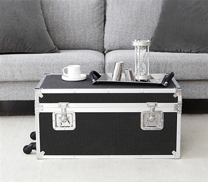 VIN Trunk - Heathered Black (With Removable Wheels)
