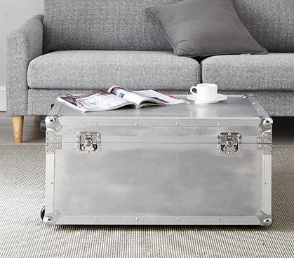 VIN Steel Plated Trunks - Argent Destination (Silver)