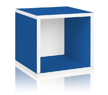 Useful Dorm Products - Storage Cube Blue - Way Basics Dorm - Cool Stuff For Dorms