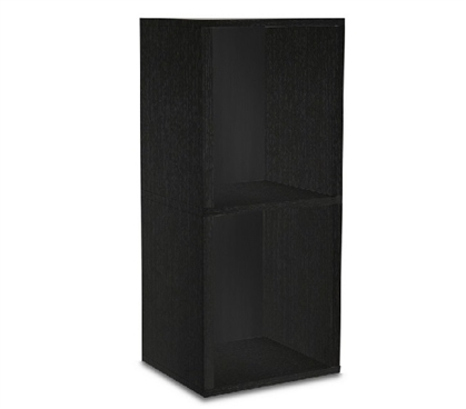 2 Shelf Cubes Black Way Basics Dorm Shelves Dorm room organizer