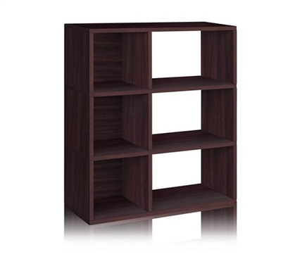 Dorm Essentials 3 Shelf Dorm Storage Bookcase Espresso - Way Basics Dorm Storage Solutions Must Have Dorm Items