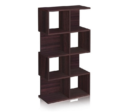 Dorm Room Storage Cube Bookcase Espresso - Way Basics Dorm Storage Solutions