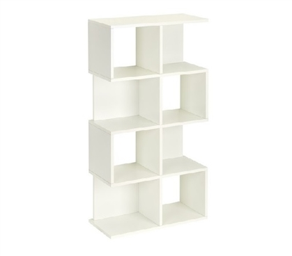 Cube Bookcase White - Way Basics Dorm Storage Solutions Must Have Dorm Items