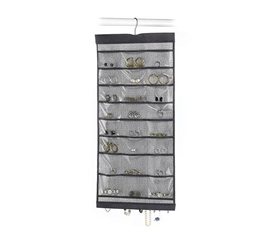 Gray Hanging Jewelry File