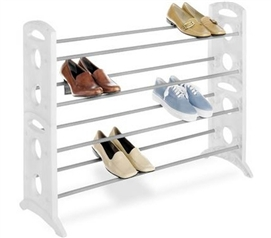 Floor Shoe Stand - 20 Pairs