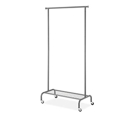 College Garment Rack- Gunmetal