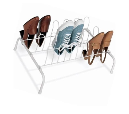 9-Pair Dorm Room Shoe Rack