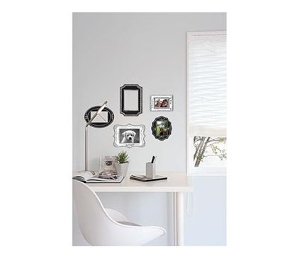 Sketch it Frames Wall Art - Peel N Stick Dorm Essentials