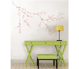 Spring Wall Art - Peel N Stick Dorm Room Decorations College Wall Decor