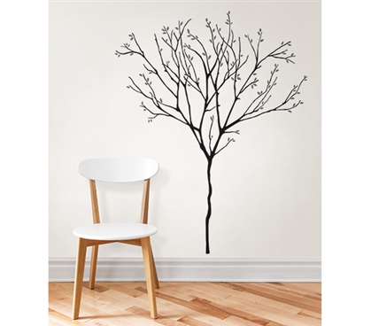 Willow Wall Art - Peel N Stick College Wall Decor Dorm Room Decorations