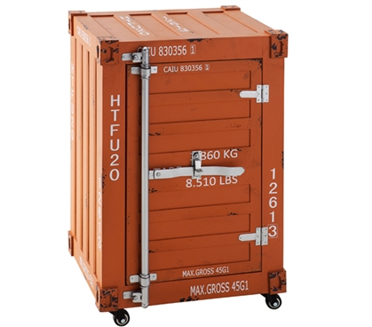 The 40HQ Bolt Trunk - Burnt Orange