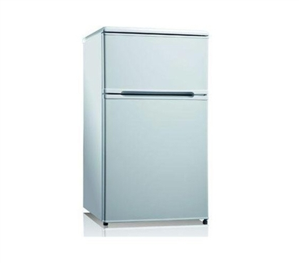 Midea College Fridge with Freezer - 3.1 Cu Ft - Stainless Steel