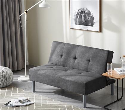 College Mini Futon Dorm Sized Sofa Furniture Essential For