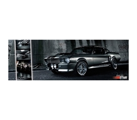 Shelby GT500 - Mustang College Dorm Poster College Decor Poster