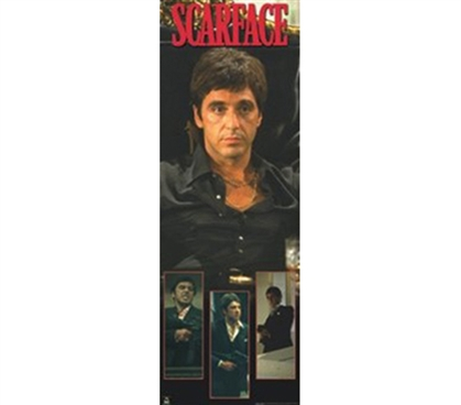 Scarface - Collage Dorm Wall Movie Poster Fun Dorm Decorations