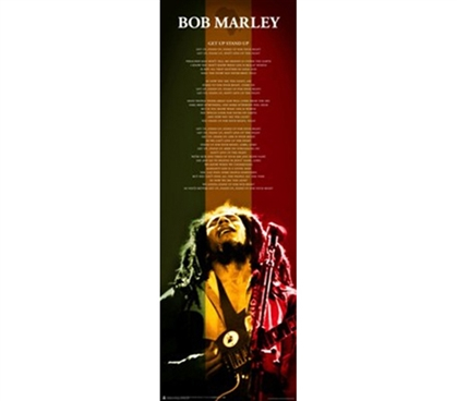 Bob Marley Music Great Decor - Get Up College Dorm Poster