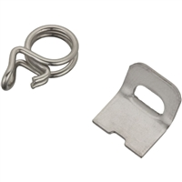 Jura Micro Clamp and Collar (3ea) | Silicone Tube Fastener