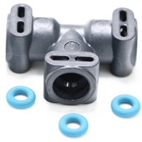 Jura E-S-X-Z-GIGA T-Shaped Thermoblock Connector | 3-Way Hose Connector | 65823