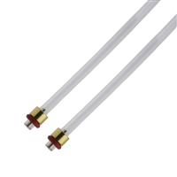 Jura ENA Membrane Regulator to Thermoblock Hose | 4x2.5x240mm