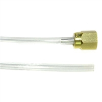 Jura Thermoblock to Solenoid Valve PTFE Hose | 4x2x250mm