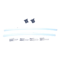 Jura C-E-F-J-S-X-Z Milk Container Connector Kit | 120mm Milk Tube | Rubber Gasket | Hose Connector