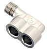 Jura C5-E8-E9-F7-F8-F9 Thermoblock Metal F-Shaped Connector | 60536