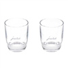 Jura Espresso Shot Glasses 80ml | 2 Glasses | 71451