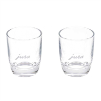Jura Espresso Shot Glasses 80ml | 2 Glasses