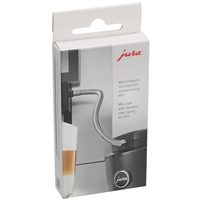 Jura C-E-F-J-S-Z Stainless Steel Milk Tube Casing | HP3 | 24114
