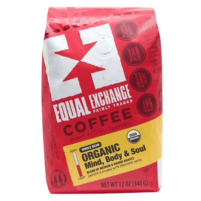 Equal Exchange Mind, Body & Soul Organic Coffee