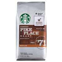 Espresso Yourself | Starbucks Pike Place Coffee Beans | 12oz